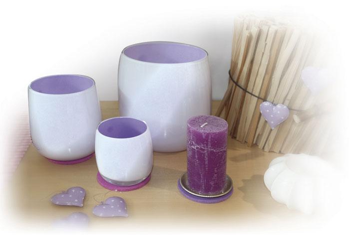 Kerzen+Vasen